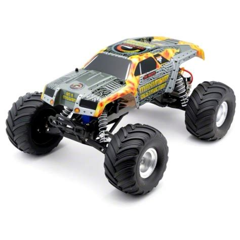monster jam traxxas trucks traxxas quot maximum destruction quot monster jam 1 10 scale 2wd