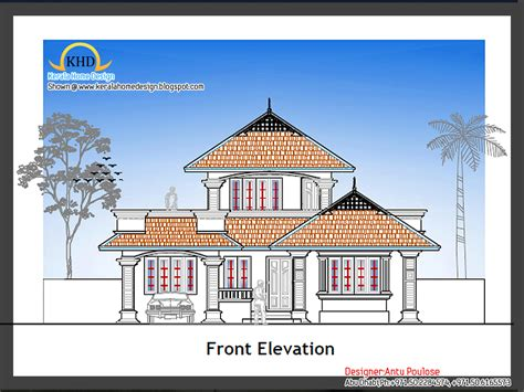 new home house plans home plan and elevation 1800 sq ft kerala home design and floor plans