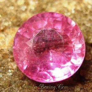 Promo Cincin Berlian Ring Emas 50 batu permata safir pink cut 1 35 carat harga promo murah