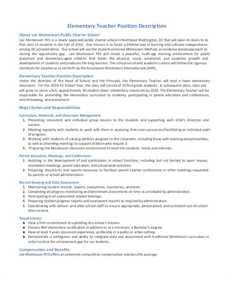 substitute description substitute resume sle functional resume