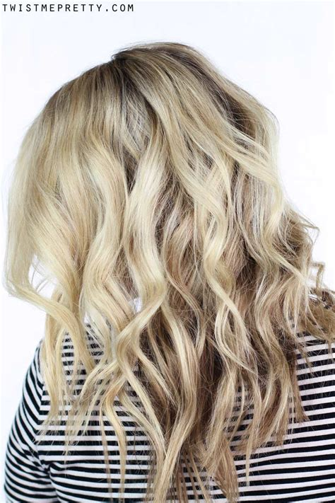 how to get cute curls wand wiki how to soft waves using a curling wand twist me pretty