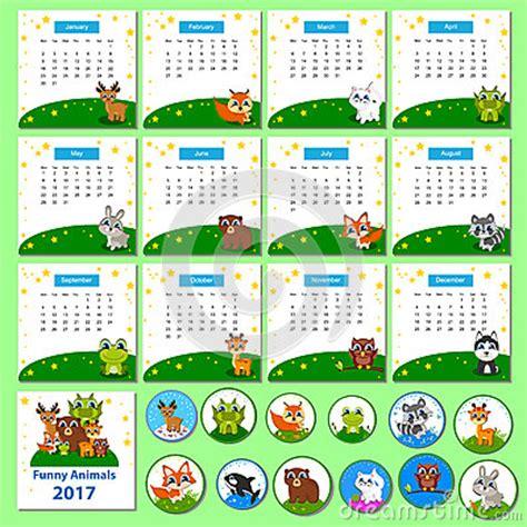 Calendrier Kinder 2017 Calendrier 2017 Avec Les Animaux Dr 244 Les De Bande Dessin 233 E