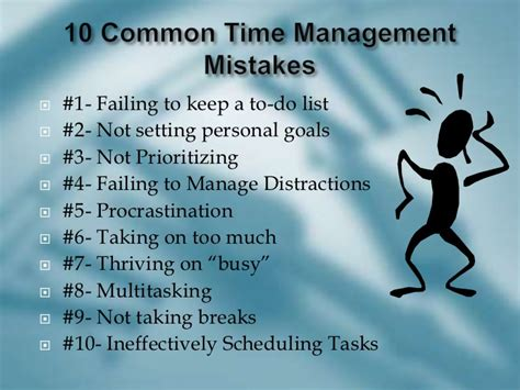 Time Management In The Office And Out On