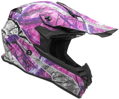 womens motocross helmet womens vf1 vf 1 skull camo mx motocross offroad