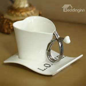 unique shaped coffee mugs new arrival beautiful heart shape with love letters unique