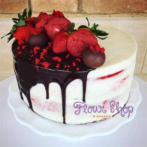 cake decoration at home birthday red velvet decadence cake by flourshoptx red velvet drip