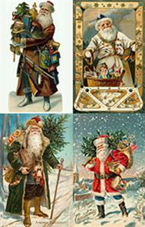 what was the original color of st day st nicholas santa claus and