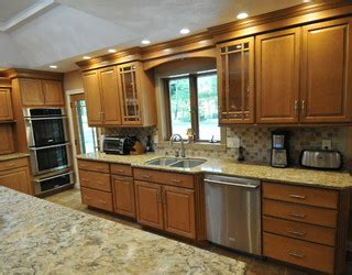 Design Photos 5732 by Honey Maple Glaze Traditional Kitchen New York By