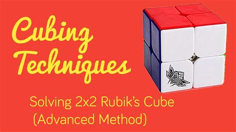 solving 2x2x2 rubik s cube advance method