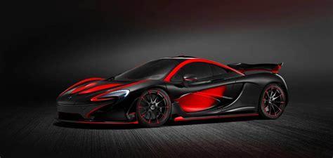 Black & Red McLaren P1 from MSO