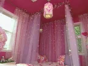 Girls Canopy Bed Curtains by Red Blog Canopy Bed