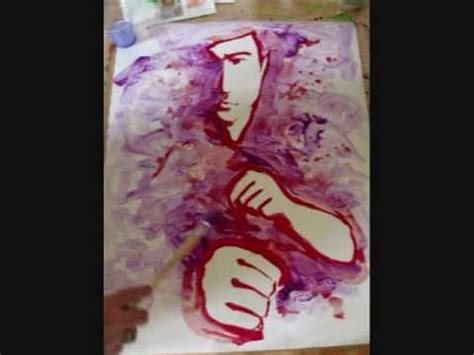 using poster paint learn to paint a cool painting in minutes using only