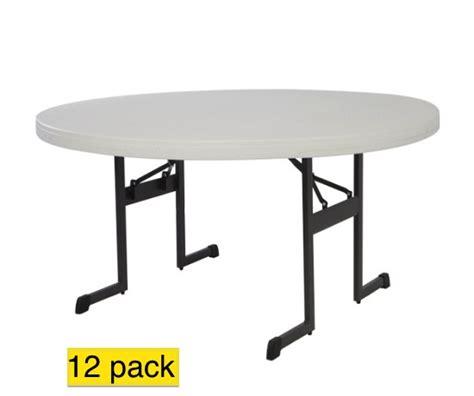 lifetime table 12 lifetime folding tables 80313 60 quot almond professional grade