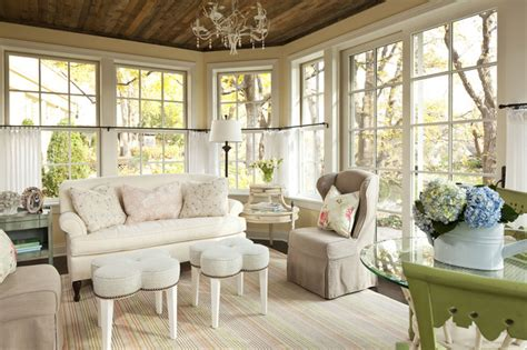 sunnyside road residence family room shabby chic family room minneapolis by martha o