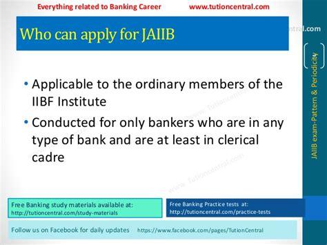 paper pattern of jaiib exam jaiib exam pattern periodicity www tutioncentral com