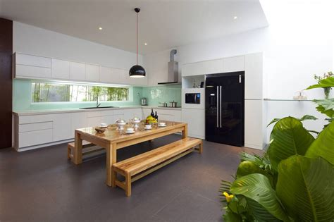 1000 images about kitchen diner layout ideas on pinterest a fresh home with open living area internal courtyard