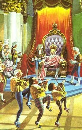 Old King Cole Nursery Rhyme by Old King Cole Ladybird Book Illustrations Pinterest