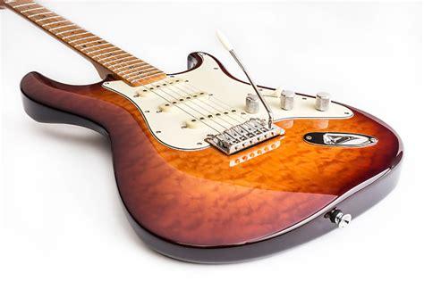 Gitar Dean Zelinsky Tagliare Quilt Top Maplle dean zelinsky guitars tagliare z glide custom electric guitar reverb