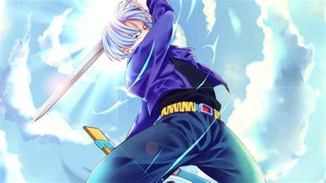 dragon ball z trunks iphone wallpaper dragon ball z images future trunks wallpaper and