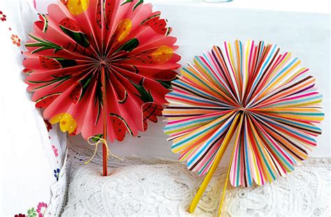 Paper Fan Craft For - how to make a paper fan goodtoknow