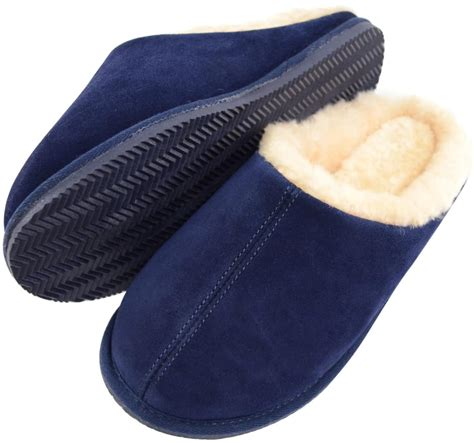 sheepskin mule slippers uk newbury sheepskin mule slipper navy snugrugs