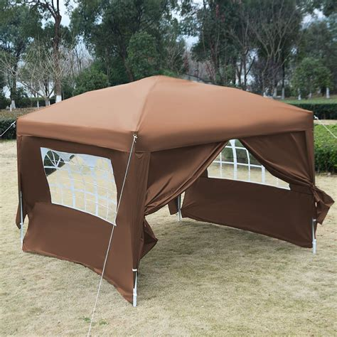 pop up tent awning 10 x 10 ez pop up tent canopy gazebo