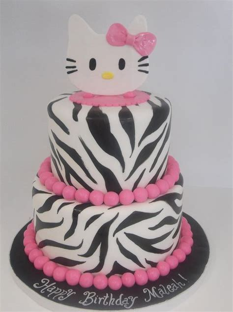 imagenes kitty zebra without hello kitty zebra print cake with teal instead of