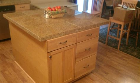 kitchen island with tiger maple veneer by johnnydust