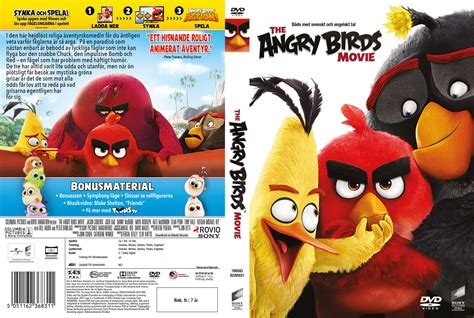 the angry birds movie dvd release date august 16 2016 the angry birds movie dvd cover 2016 r2 swedish