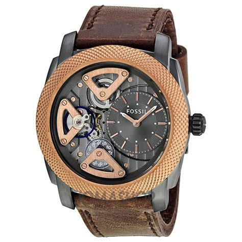 Fossil Me 1122 Gold Brown mens fossil watches lookup beforebuying