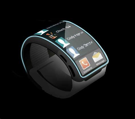 samsung gear smartwatch concept shows a future of screens