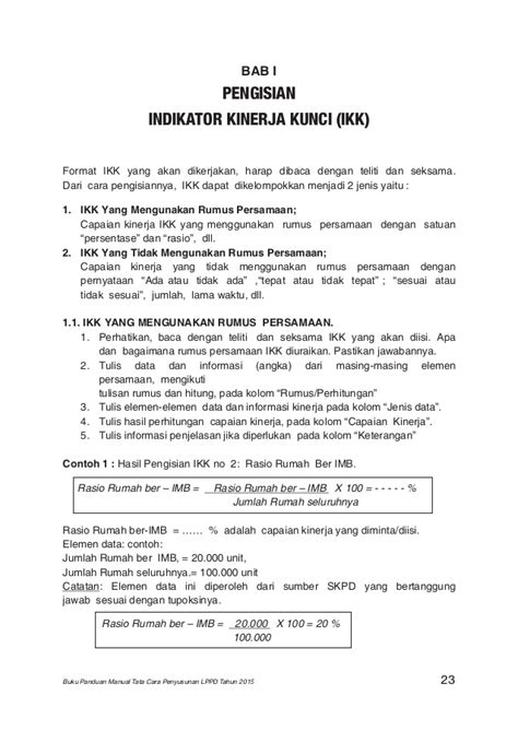 format buku vot manual buku panduan manual tata cara lppd 2015