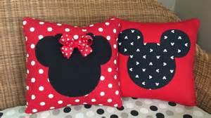 disney minnie mickey mouse pillows by kentuckykraft on etsy