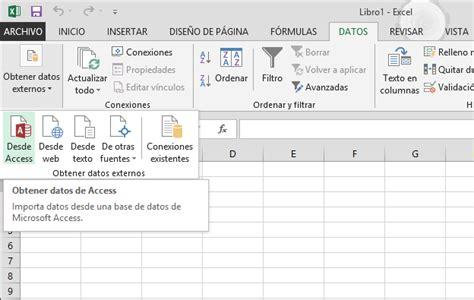 tutorial excel 2010 base de datos tutorial importar datos en excel 2013 y crear un modelo