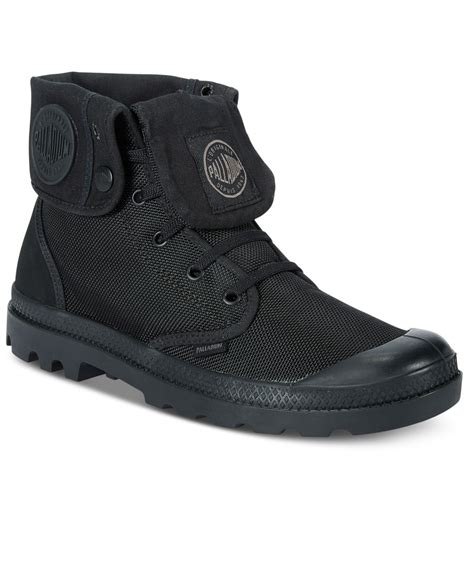 palladium monochrome baggy ii boots in black for lyst