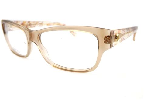 light brown glasses frames gucci womens light brown chagne flowers optical rx