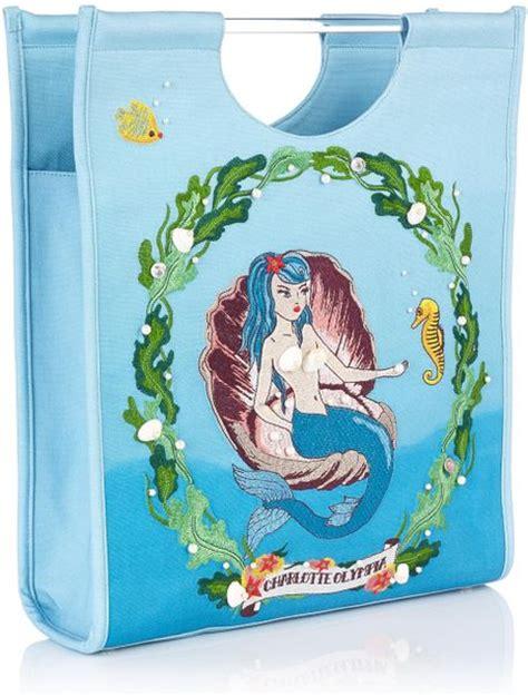 Marc Jacob Shopper 833 olympia mermaid shopper in blue multi colour