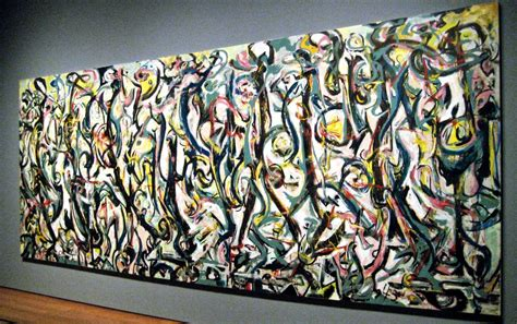 Interior Design Courses by Jackson Pollock 1943 Mural At The Getty Center 187 Articles