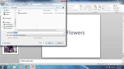 powerpoint tutorial pdf 2013 how to convert powerpoint 2010 presentation to pdf youtube
