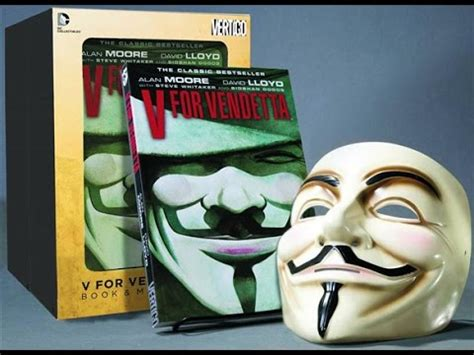 libro v for vendetta v for vendetta set de libro y mascara unboxing youtube