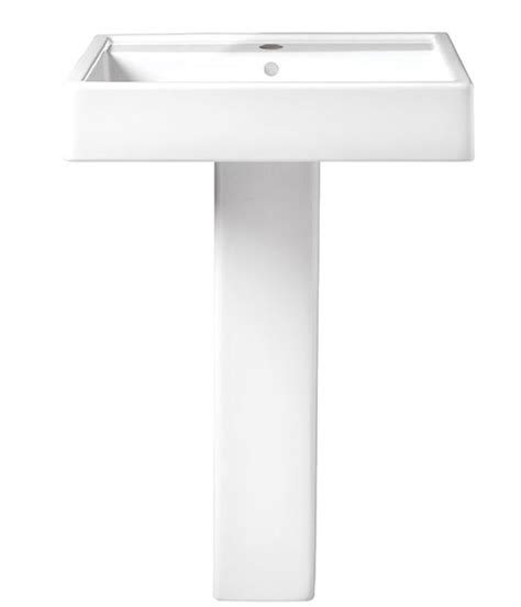 24 inch pedestal pedestal seagram 24 inch pedestal lavatory from dxv