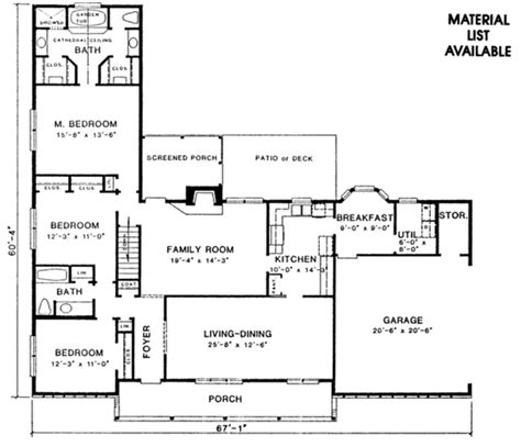 1950s ranch house plans ranch style house plan 3 beds 2 baths 1950 sq ft plan
