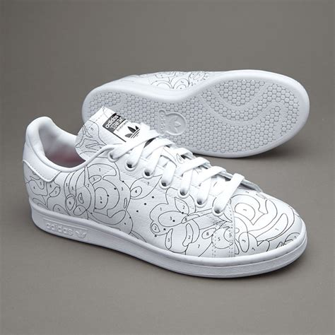 Sepatu Adidas Stansmith White sepatu sneakers adidas originals womens stan smith ro ftwr