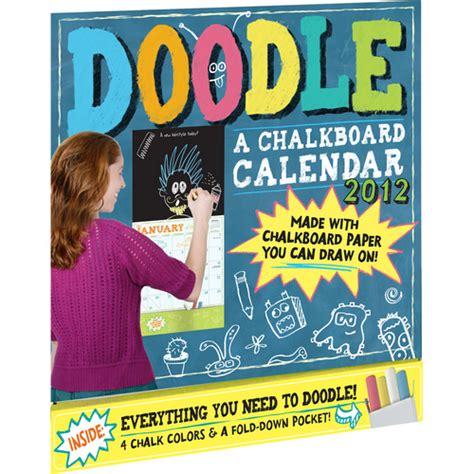 daily doodle 2012 daily calendar crafts desk calendars and wall calendars 2017