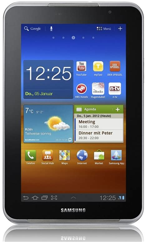 samsung galaxy tab 7 0 plus n specs and price details gadgetian
