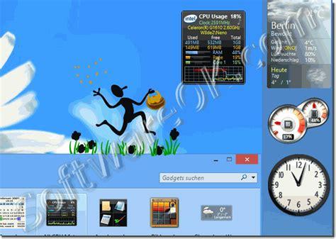 Desk Top Gadgets by Add Windows 7 Desktop Gadgets To Windows 8 1 Or Windows 10