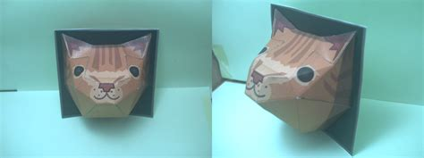 Papercraft For Sale - built ceiling cat papercraft sale by darkdragontanis on