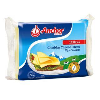 Cheese Anchor 250 Gram Anchor Cheddar Cheese Slices 12s X 200g Fairprice