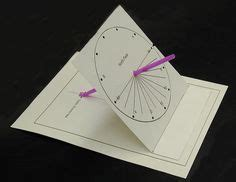 How To Make A Paper Sundial - 1000 images about sonnenuhr sun on