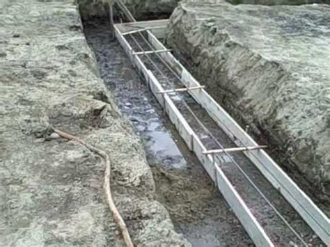 How To Lay A Foundation For A House by Day 5 Construction Site Concrete Forms In Preparation For